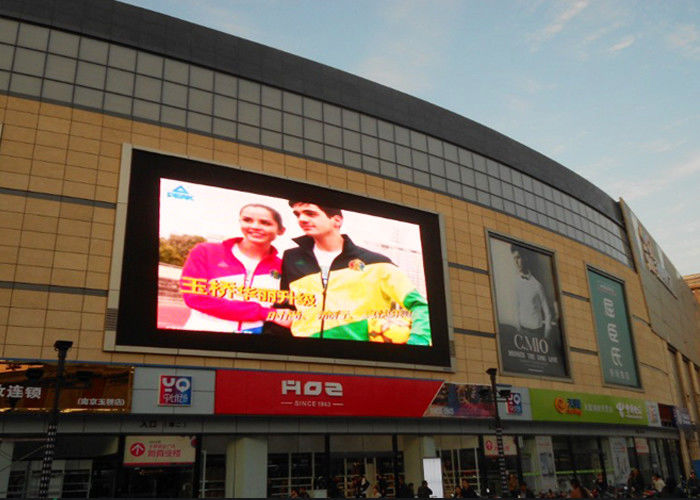 Outdoor SMD3535 P6 Programmable Led Display , Pitch 6mm Led image screen